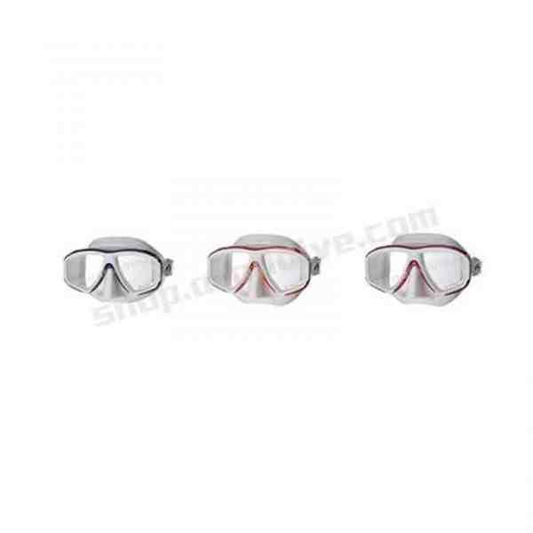 Problue-Ornata 專業型 白色矽膠雙面鏡