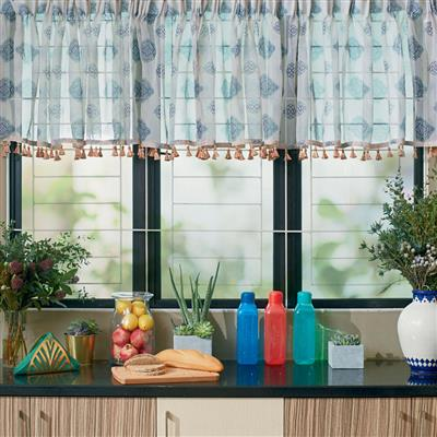 kitchen cafe curtains moen sink faucets qalea by rizalman curtain avon malaysia