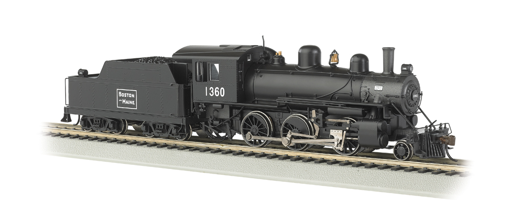 Boston & Maine #1360 - ALCO 2-6-0 - DCC Sound Value - Click Image to Close