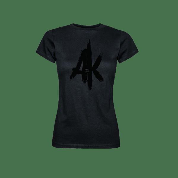 T-Shirt-black-Lady-Ak23-AK23-black