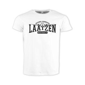 T-Shirt-white-hoodwear-Laatzen-district