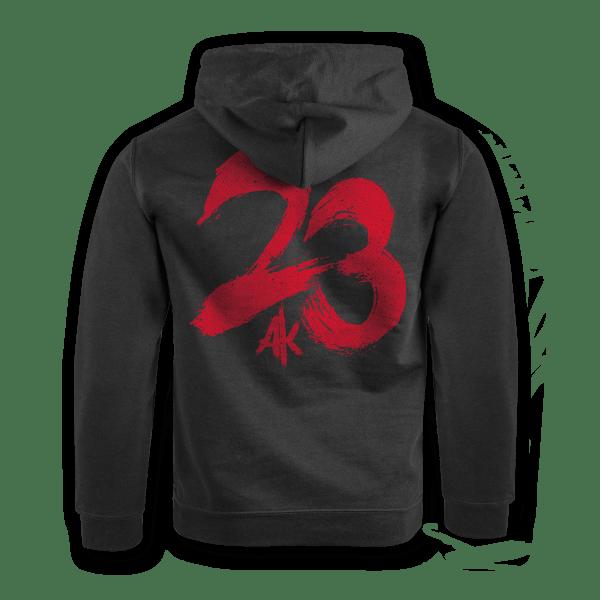 AK23_Hoodie-23-Black-Back Kopie