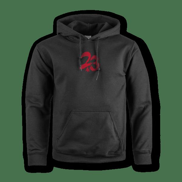 AK23_Hoodie-23-Black-Front Kopie