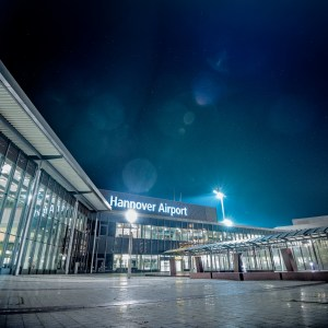 hannover-nightshots-Hannover-Airport