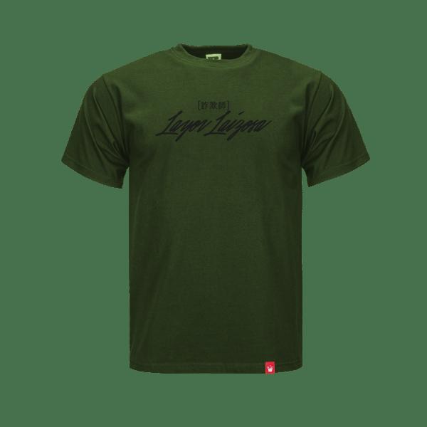 T-Shirt-AR-Mega_Trocken_Front_Olive_Green