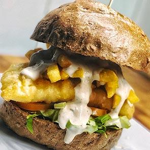 Fish & Chips Burger