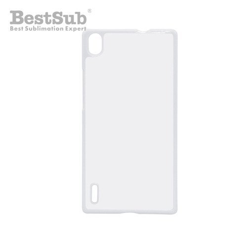 Huawei Ascend P7 case plastic white Sublimation Thermal