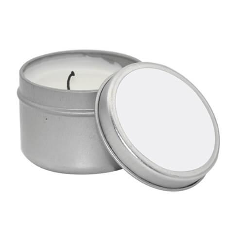 bougie parfumee en boite metallique petite sublimation transfert thermique
