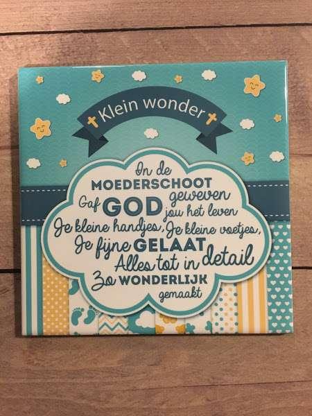 Tegel - Klein wonder