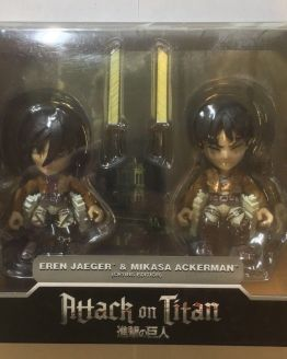SDCC Attack on titan Figures