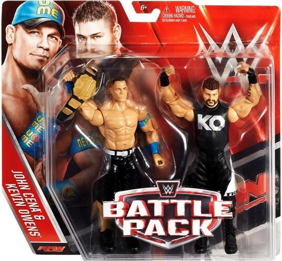 WWE Cena and Owens
