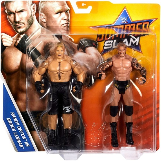 WWE Orton and Lesnar