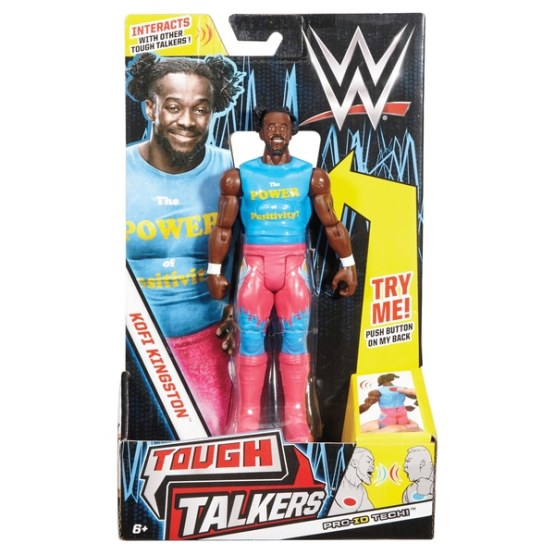 WWE Kofi Kingston Tough Talker