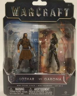 Warcraft mini figures