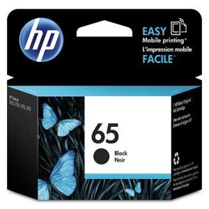 HP 65 N9K02AN Original Black Ink Cartridge Genuine Product from HP