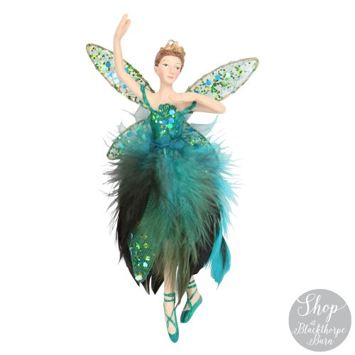 blue and green fairy