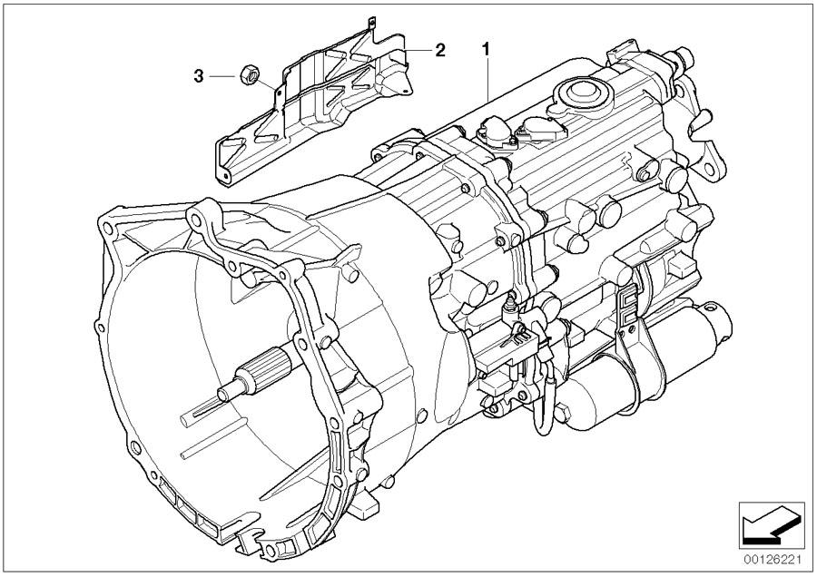 BMW 330Ci Rp reman 6-speed trans.sequential. Gs6s37bz