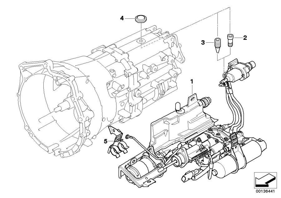 2006 BMW 650i Torx bolt. M6X16. SMG, Hydraulic, Pump