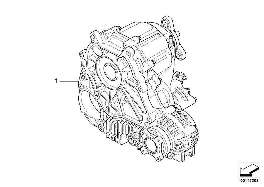 BMW 530xi Exch.-AUXILIARY TRANSMISSION. ATC 300. Transfer