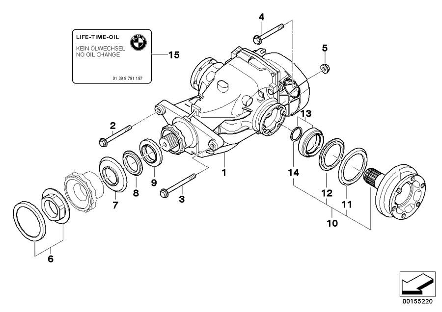 2016 BMW Z4 Hex bolt with washer. M12X1, 5X100. Axle
