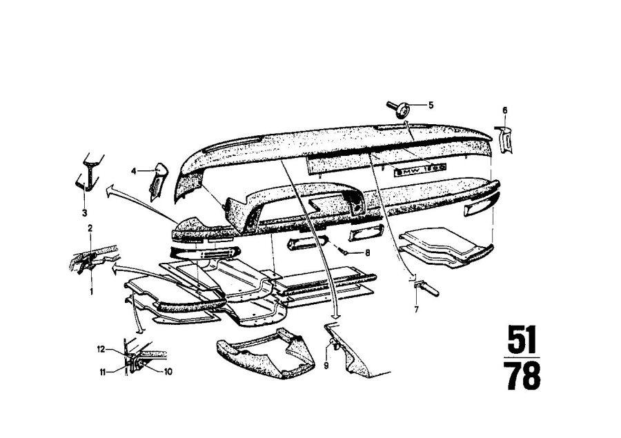 2004 BMW X5 Body nut. ST 4, 8-6-ZNS3. Front, Trim, Fuel