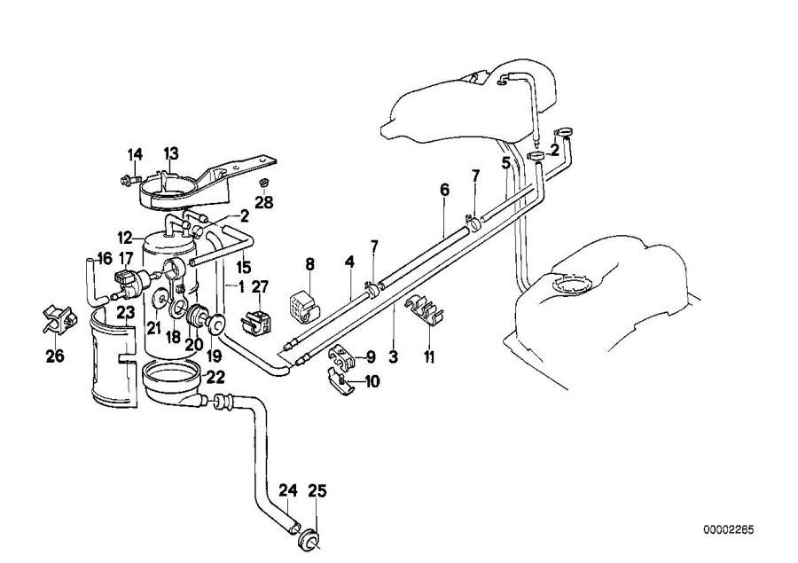 1989 BMW 735i Cable holder. D=16, 8MM. Adjustable