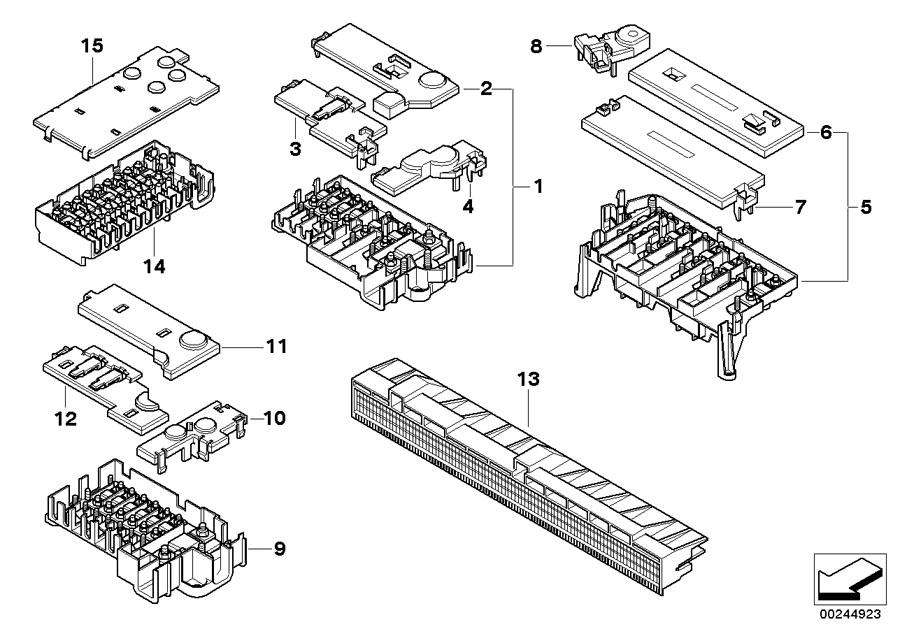 2001 bmw 740il fuse diagram