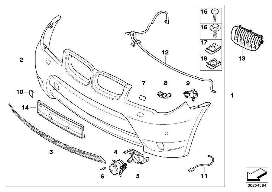 Bmw X3 Body Parts Diagram / 2020 BMW X3 Front towing hitch
