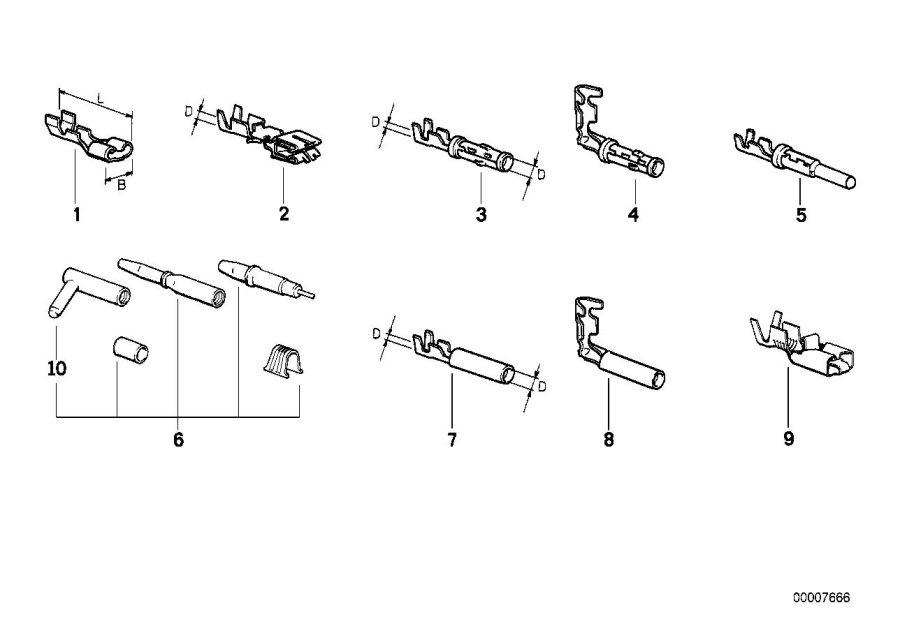 bmw 525i 535i e34 wiring diagram 1988 1995