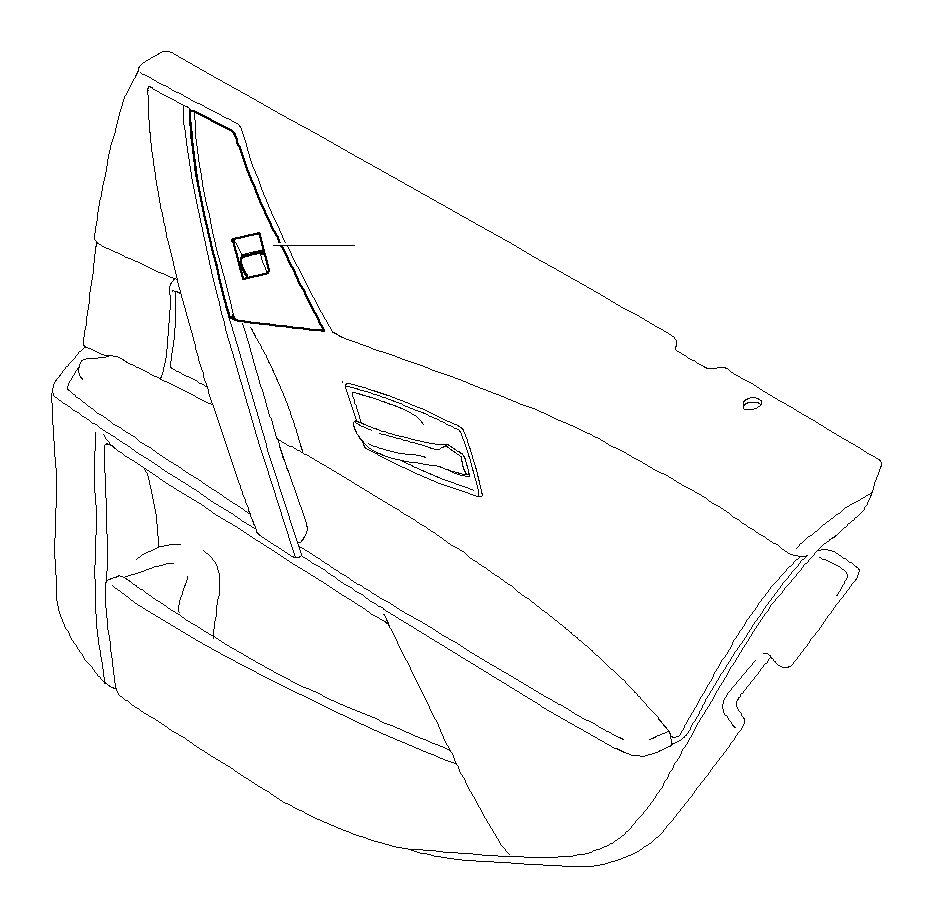 2006 BMW 525i Switch, window lifter, rear right. BRAUN