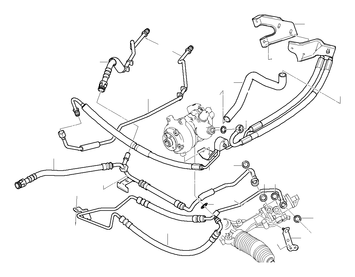BMW M5 Gasket ring. D=7, 65MM. Evaporator, Air