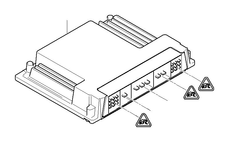 2007 BMW 650i Exch basic control unit dme. Me9.2 / ek928_7