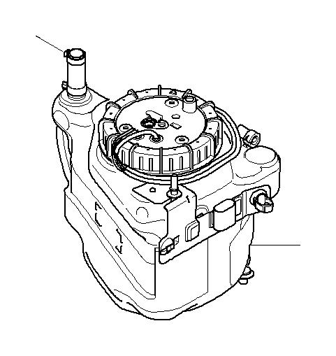BMW X5 Active tank. Fuel, System, SCR, Reservoir