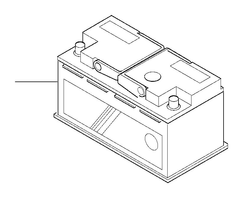 BMW 330Ci Battery, manuf.: Exide (Warranty Only). 80AH