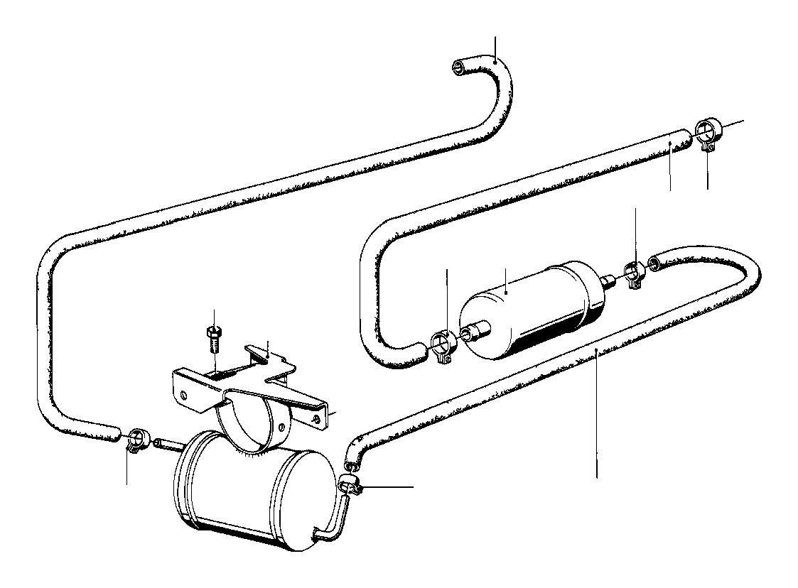 Bmw 325e Fuel Pump System Tank Filter