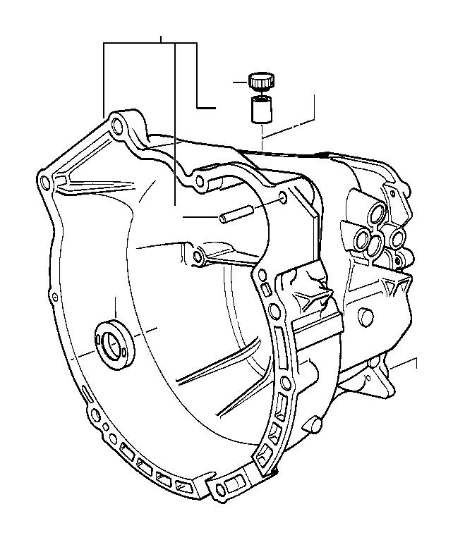 2000 BMW 540i Ventilation valve. Rear, Axle, Differential