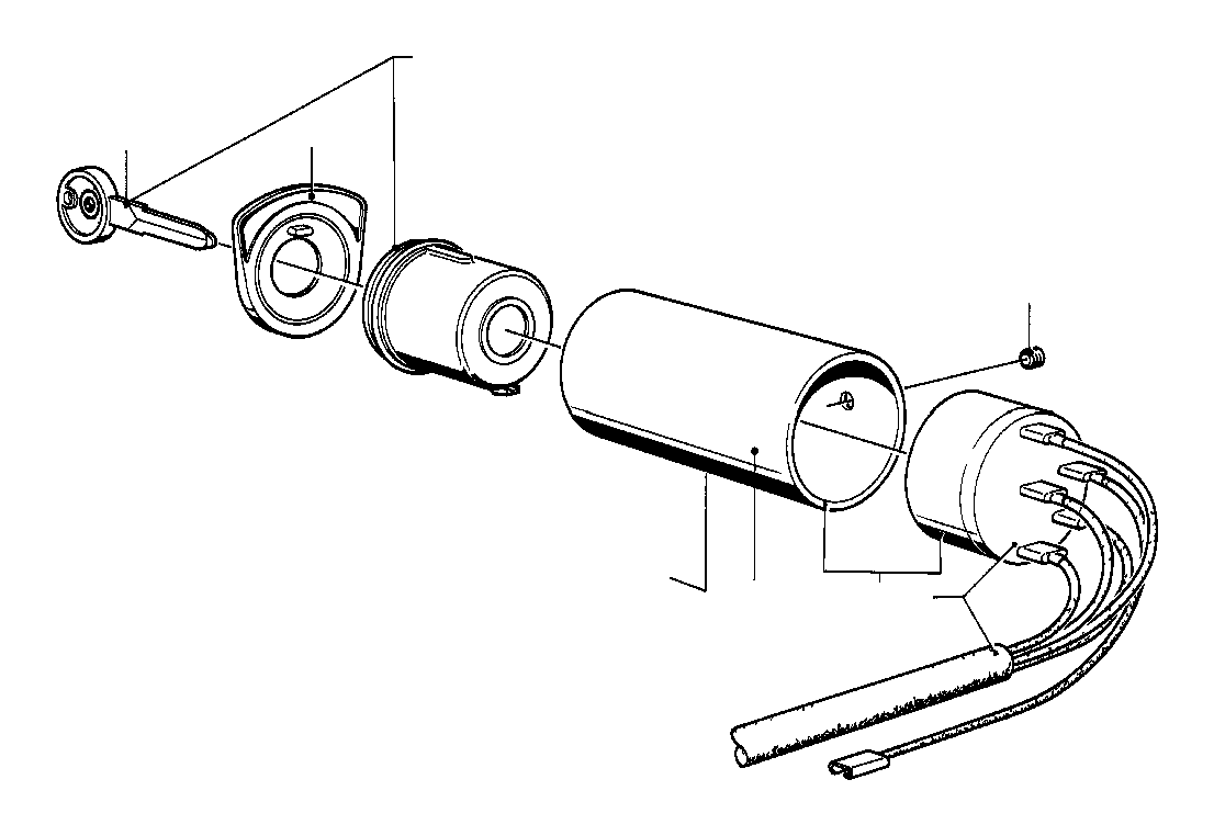 BMW 3.0S Bavaria Ignition switch. Steering, Suspension