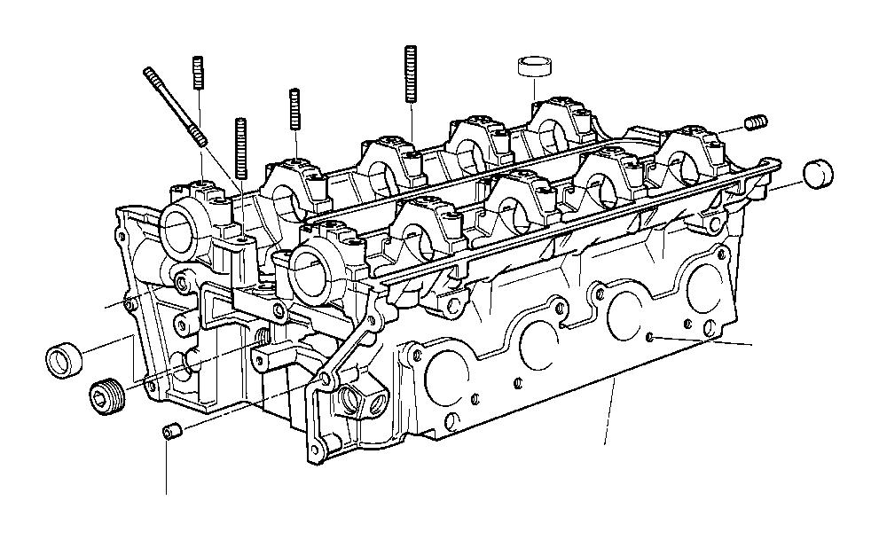 1994 BMW 740iL Screw plug. M10X1. Engine, ALPINA