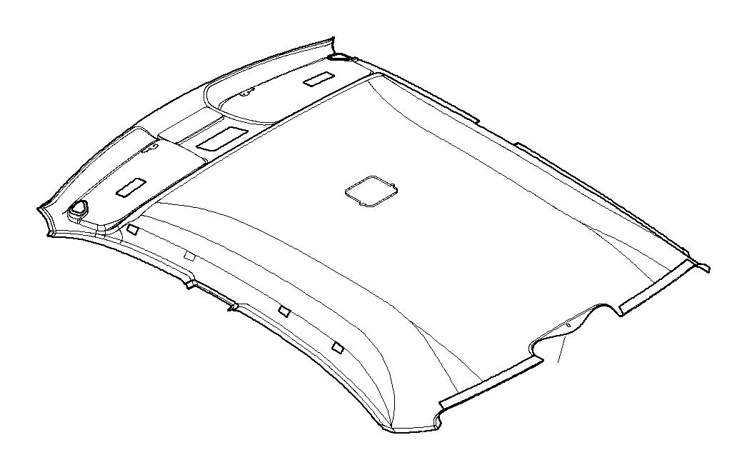 BMW 328i Headliner sunroof. HELLGRAU. Equipment, Body