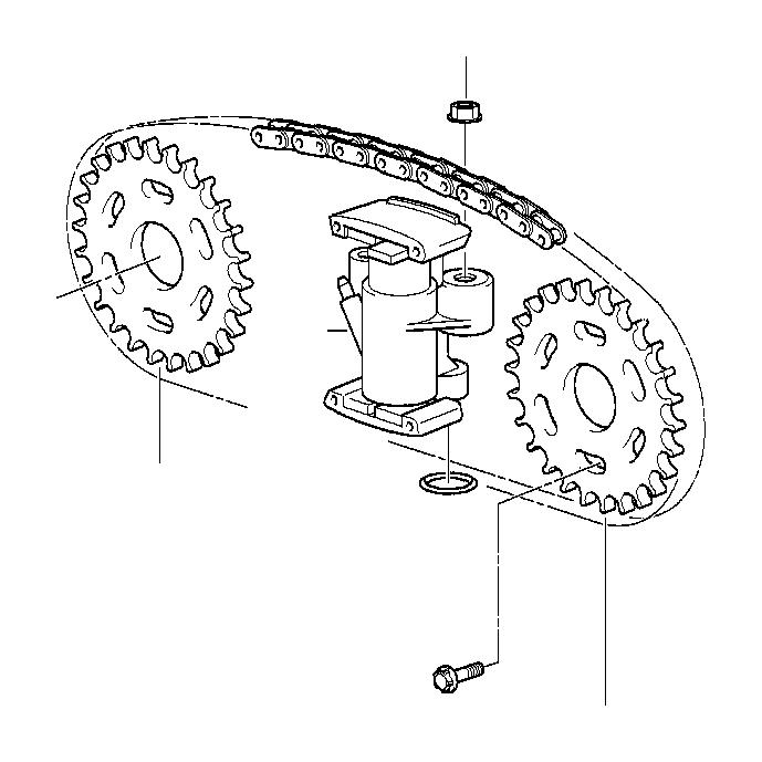 2000 BMW 740iLP Sprocket. Timing, chain, gear