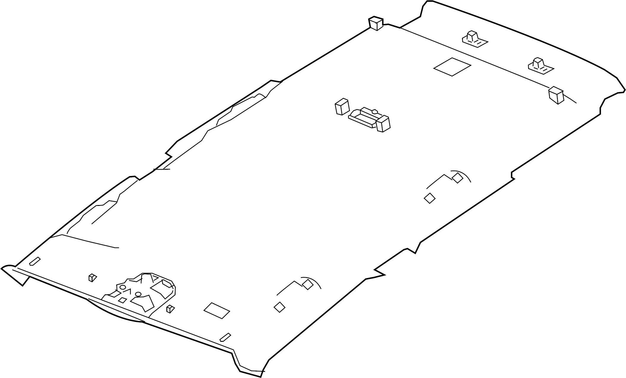Bmw 335i Moulded Roof Lining Grau Equipment Body
