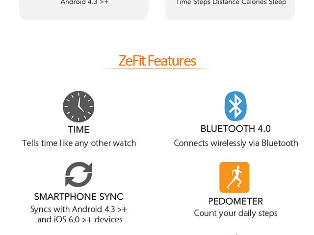 MyKronoz ZeFit Bluetooth Smartwatch