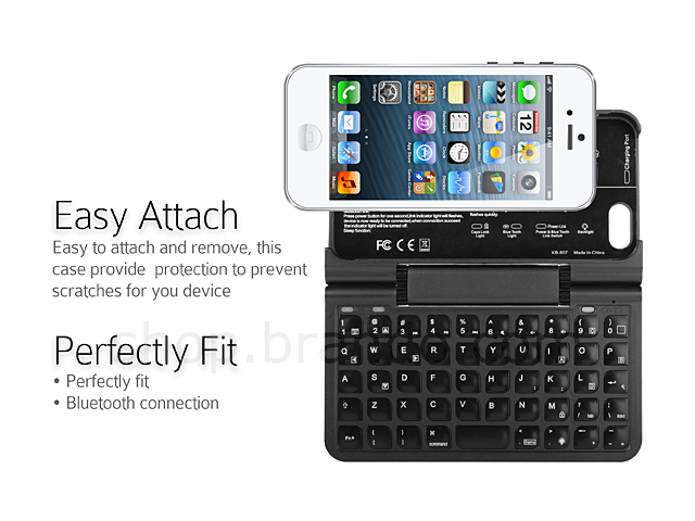 Graffiti iPhone 5  5s Case with Bluetooth Keyboard