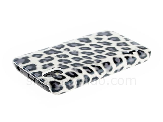 LG Optimus Black P970 Leopard Stripe Back Case