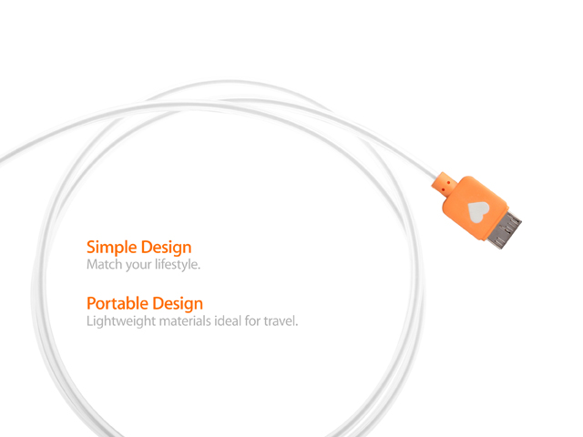 Flashing LED USB 3.0 Charging Cable