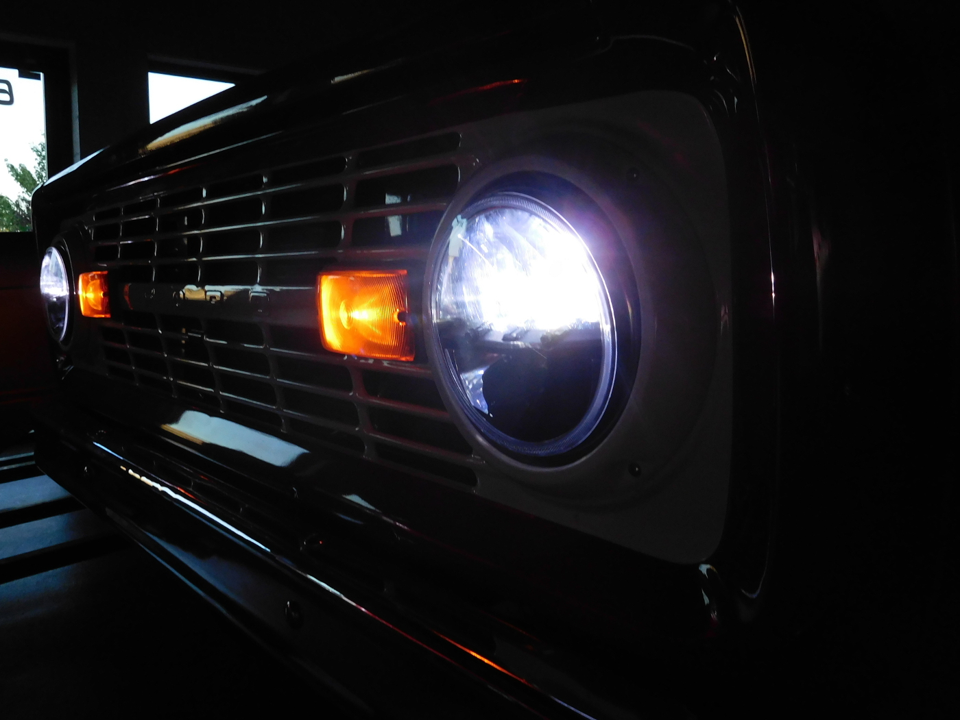 ford f150 bronco electron transport chain simple diagram 1966-1977 led projector headlights-broncograveyard.com