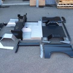 Ford F150 Bronco 1998 Front End Diagram Unassembled Body Tub Kit At Graveyard-broncograveyard.com