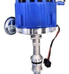 351w hei conversion distributor blue cap broncograveyard com351w hei conversion distributor blue cap images smlblkheiblue jpg [ 781 x 1200 Pixel ]