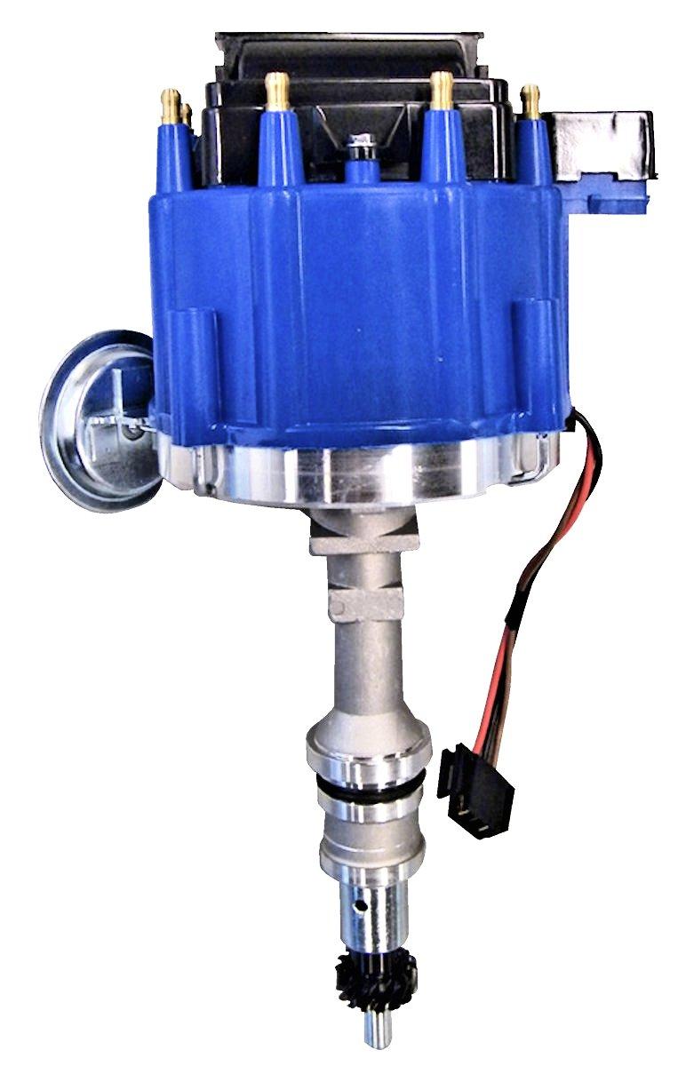hight resolution of 351w hei conversion distributor blue cap broncograveyard com351w hei conversion distributor blue cap images smlblkheiblue jpg