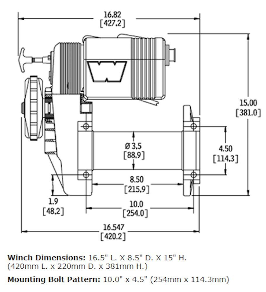 hight resolution of warn 8274 diagram
